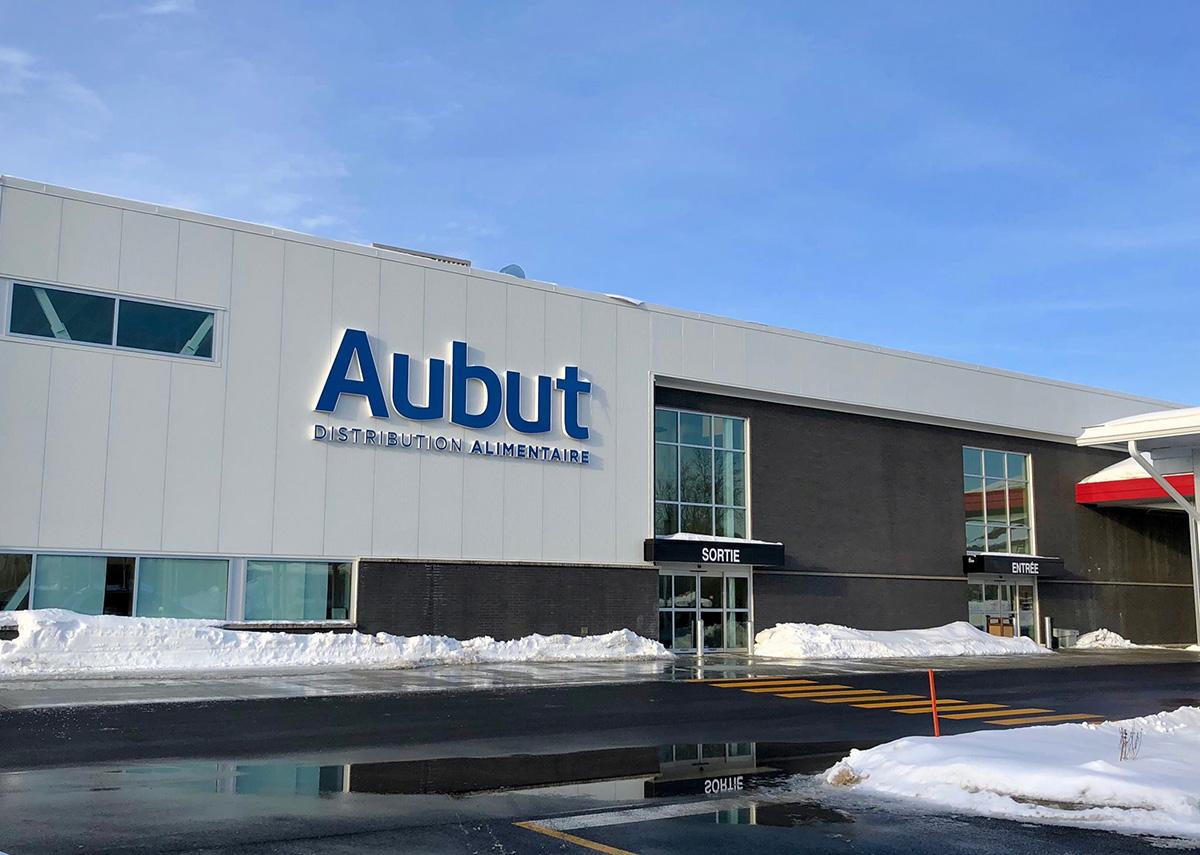 Distribution Alimentaire Aubut - Construit par Laval Aubin