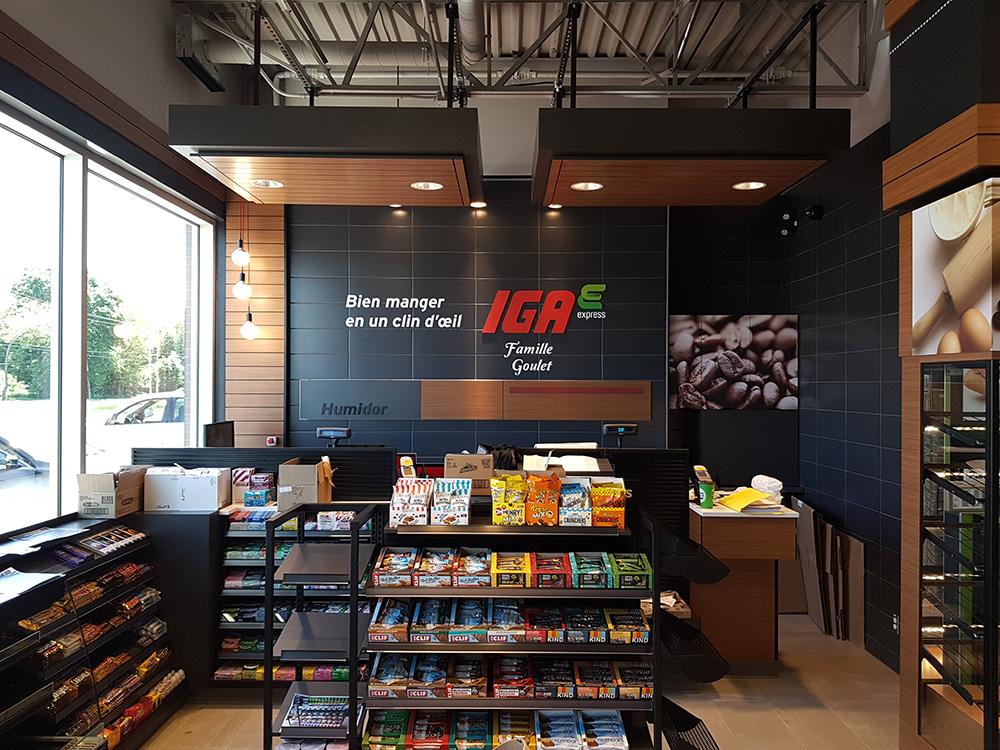 IGA Express - Shell - Groupe Laval Aubin